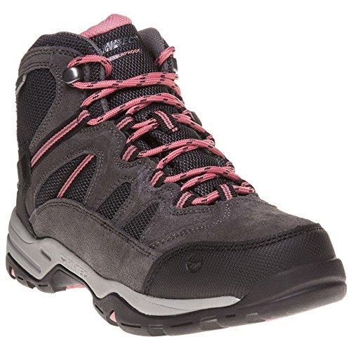 Hi-Tec Large Fixation Étanche Chaussures de Marche - - Charcoal/Graphite/Burnt Orange 4xWHBK4f,