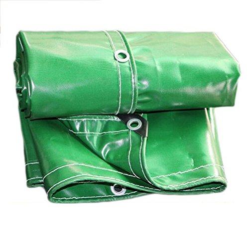 Abdeckplanen Abdeckplane Zelt Dick Wasserfeste Leinwand Regen Tuch Sonne Schutz Schatten PVC Öl Tuch Zelt Auto 600g \ ㎡, (Stärke 0,5mm)  14Größen optionalze ES IST SO Weithin verwendet, Green-1.5*2m (Öl Schatten)