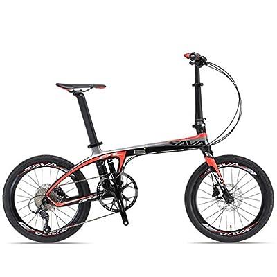 SAVA 20inch Carbon Fiber Folding Bike 9-Speed by SAVA - Review