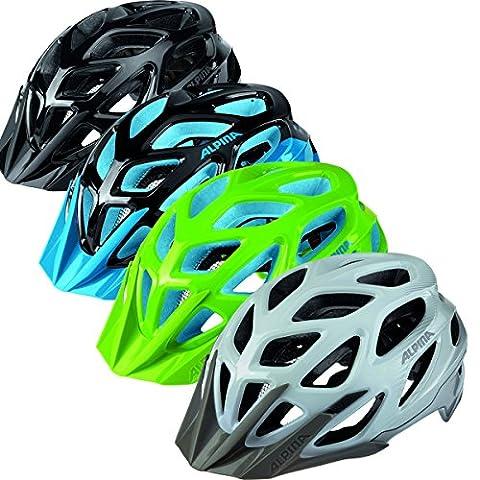Alpina A9712370 Radhelm MYTHOS 3.0 Fahrradhelm Bike-helm (NEON-GREEN-BLUE, 57-62)