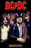 AC/DC Highway To Hell Nue offiziell Textil-Flaggen-Plakat