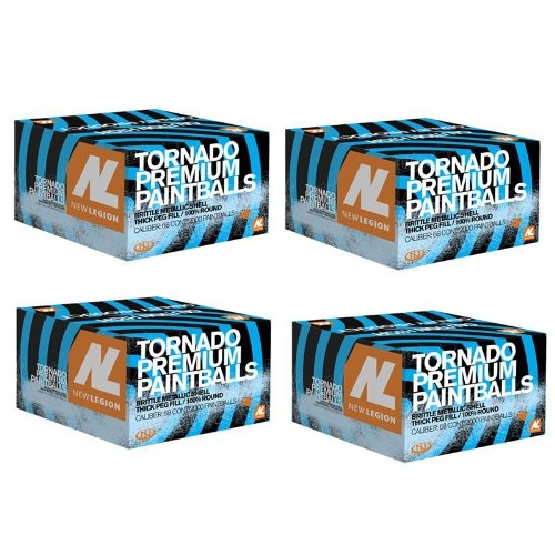 New Legion Tornado Paintballs 8000 Stk