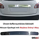Chrom leiste aus Edelstahl für (Sensor) QASHQAI mit Keyless Entry I-Key 2007-2014