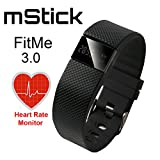 mStick FitMe Fitness Band 3 With Pedomet...