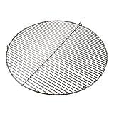 PrimoLiving - Griglia rotonda in acciaio INOX