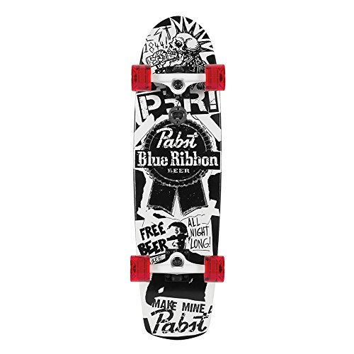 Santa Cruz Skateboard Longboard PBR Flyer, 8.2 x 30.7 Zoll, SANLOBPBFL -
