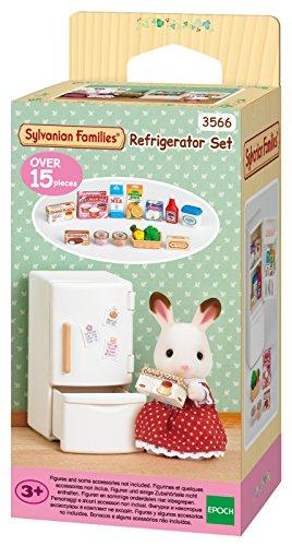 Sylvanian Families 3566 - Kit de nevera y alimentos en miniatura