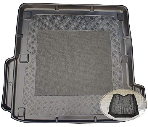 ZentimeX Z3048825 Antirutsch Kofferraumwanne fahrzeugspezifisch + Klett-Organizer (Laderaumwanne, Kofferraummatte)