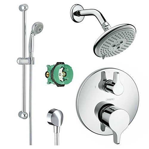 hansgrohe-ksh04448-27447-94pc-raindance-shower-faucet-kit-with-handshower-wallbar-pbv-trim-with-dive