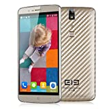 "Elephone P8000 5.5"" 4G LTE Smartphone Android 5.1 MTK6753 64 Bit Octa Core 1.3 GHz Tocco ID Sbloccato RAM 3GB/16GB ROM IPS 5 Punti Touchscreen Capacitivo FHD 1080P 4165mAh (Oro)"