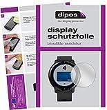 dipos I 6X Schutzfolie klar passend für Garmin Vivoactive 3 Music Folie Bildschirmschutzfolie