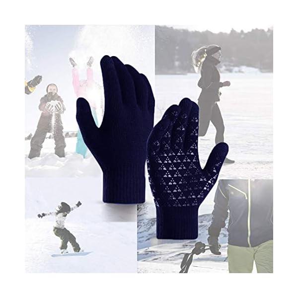 abbigliamento uomo guanti donna invernali touch screen caldi accessori uomo e donna supporto smartphone e tablet idee… 2 spesavip
