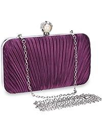 1938e873ac33 Selighting Bolso de Noche de Lujo Bolso de Hombro Mujer Glitter Diamond  Embrague Bolsos de Hechos