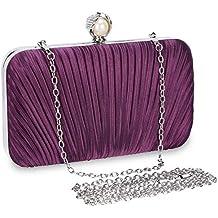 Selighting Bolsa de Noche Mujer Bolso de Mano Bolso Clutch de Embrague Monedero para Mujeres y