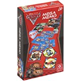 Caramundi 10.75.59.928 Cars 2 Mega Memo - Juegos de cartas (4 en 1)