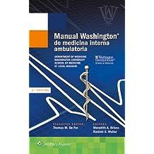 Manual Washington de medicina interna ambulatoria