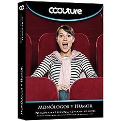 COOLTUREBOX - Caja Regalo - MONÓLOGOS Y HUMOR - Entradas para 2 personas más 2 noches de hotel