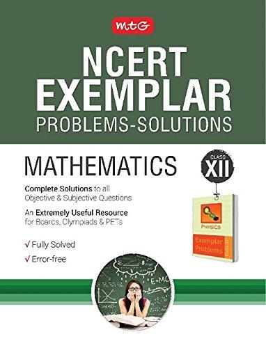NCERT Exemplar Problems-Solutions Mathematics Class 12