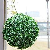 Mamaison007 Bola Topiario Artificiales Plástico Decoración Del Árbol De La Planta-30 CM