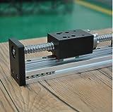 Gewindestange lineare F¨¹hrungsschiene mit Motor und Kugelumlaufspindel f¨¹r CNC-Kugelumlaufspindel Linearmodul f¨¹r 3D-Drucker Teile Roboterarm Kit 500MM