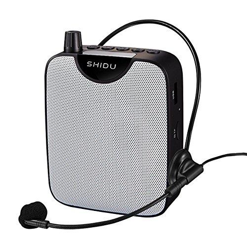 Insegnante MicrofonoMini Amplificatore di Voce Portatile Ricaricabili Ultralight Vocali Amplificatori Altoparlante con Microfono Auricolare