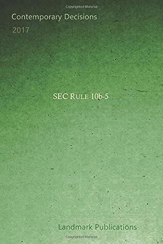 SEC Rule 10b-5
