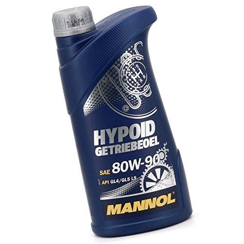 Hypoid-getriebeöl (Getriebeöl 1 Liter SAE 80W-90 API GL4/GL5)