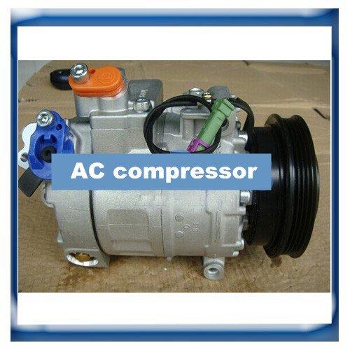 Gowe A/C Kompressor für 7SBU16C Volkswagen Passat B5A/C Kompressor für Audi A4/A6/A8/Skoda 8D0260805B 8D0260805J 8D02608088d0260805p