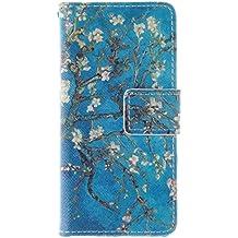 Coffeetreehouse - Bolso pequeño al hombro para mujer Apricot tree iPhone SE/5/5S