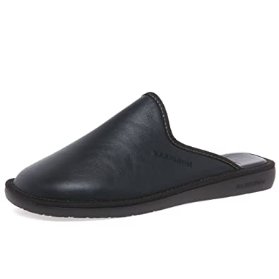 a69e0cbeb6a Nordikas Norwood III Mens Leather Slippers  Amazon.co.uk  Shoes   Bags