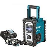 Makita DMR109 10.8v-18v LXT/CXT LI-ion Job Site Radio With 2 x BL1020B 10.8Ah Batteries & DC10WC Charger