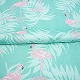 Ein Stück 50cm * 160cm Flamingo bedruckten Baumwollstoff,patchwork stoffe,baumwollstoff meterware,stoffe patchwork stoffpaket