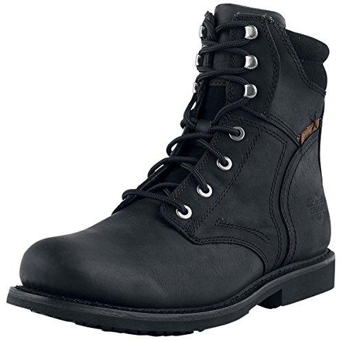 Harley Davidson Herren Stiefel Schwarz Black