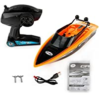 Price comparsion for RC Boat Fast High Speed Racing Remote App-Controlled Watercraft Kids' RC Toy Watercraft Electronic Outdoor for Boys Gift Pool Lake