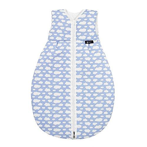 Alvi Mäxchen Schlafsack Thermo, Größe:110;Design:Wolke blau 653-1