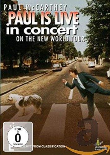 Preisvergleich Produktbild Paul McCartney - Paul is Live in Concert on the New World Tour