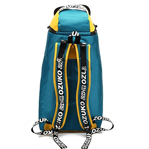 LF&F Wasserdichtes Oxford Tuch modische männliche Tasche kreative Outdoor Bergsteigen Tasche Freizeit Reise Rucksack große Kapazität Laptop Rucksack Schule Sport Rucksack A