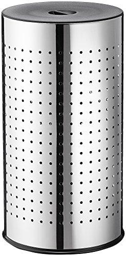 Hailo 0744-221 Poubelle Acier Inoxydable Noir