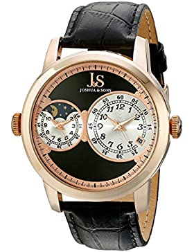 Joshua & Sons Herren-Armbanduhr JS87RG Analog Quarz