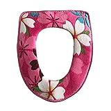 Affe WC-Sitzbezüge Wärmer Waschbare Toilettensitzabdeckung Toilette Matte WC Zubehör -Toilet Seat Cover (Rosa)