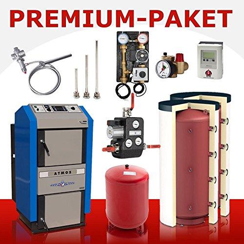 Preisvergleich Produktbild Wasserführender Holzvergaser Atmos DC 30 GSE Premium-Paket