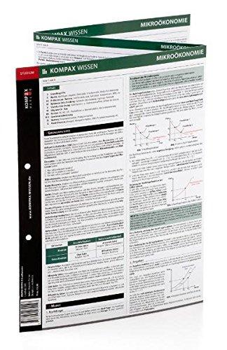 KOMPAX Wissen - Mikroökonomie im Studium (Lernhilfe / Lernkarten)