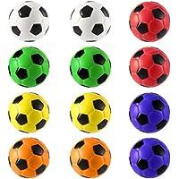 Fantasyworld El estrés 12PCS Fútbol Fuerza Alivio de Espuma de la Esponja Bolas Mano Apriete Bola de los niños Mano Adulta Ejercicio de Juguetes Juguetes Bolas del Partido