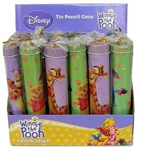 Disney Winnie L'ourson et EEYORE trousse à crayons en étain
