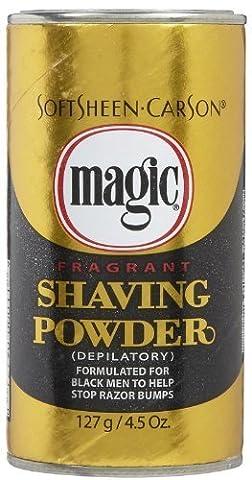 Magic Gold Shaving Powder 133 ml Fragrant by Magic (English Manual)