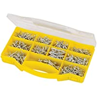 Silverline 716968 - Remache sñolido (650 piezas)