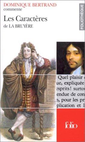 Les Caractres de La Bruyre