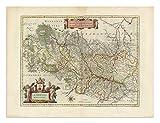 the Blaeu Prints | Luxembourg, Belgium - Historischer