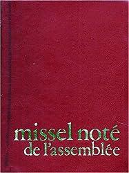 MISSEL NOTE DE L'ASSEMBLEE