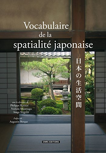Book's Cover of Vocabulaire de la spatialité japonaise